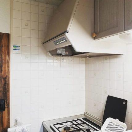 賃貸のキッチンに貼られていたタイル