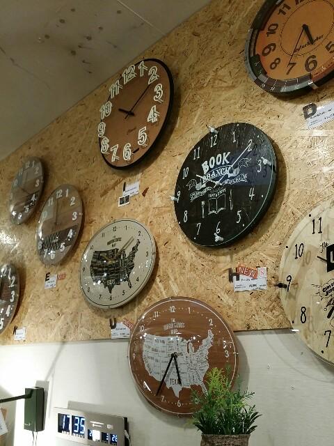 大阪天満橋駅の京阪シティーモール4階店内の時計