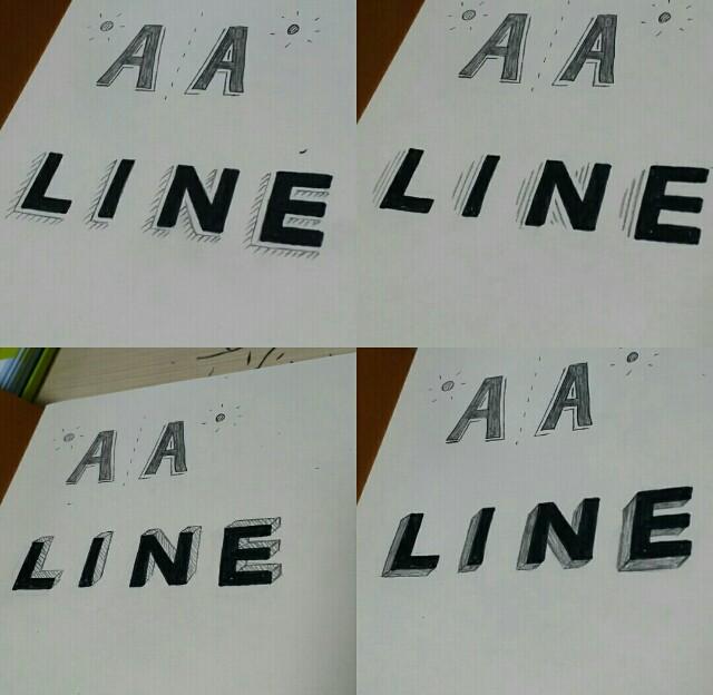 手書きレタリングのフォントの種類