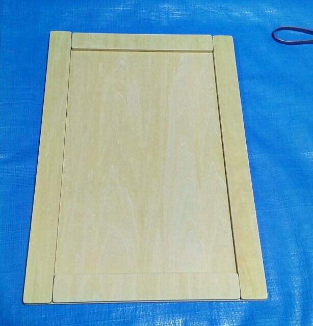 ベニヤ板で扉作り