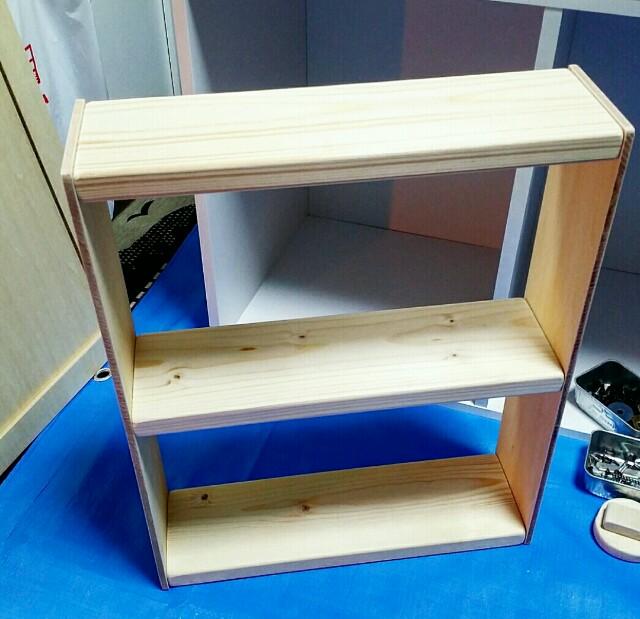 1×4材で作る自作棚