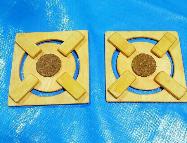 人気の手作り木製コンロ