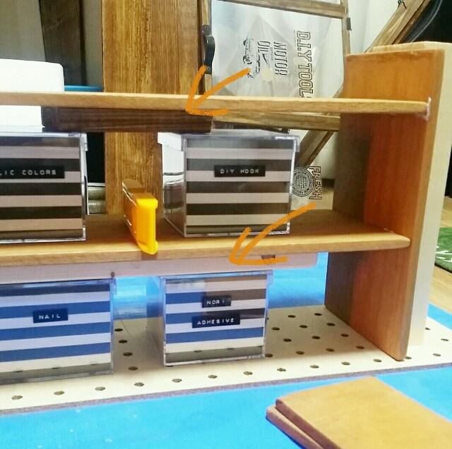 100均DIYでの棚の作り方