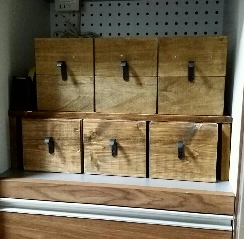 100均DIYで収納お洒落な収納ボックスを作る