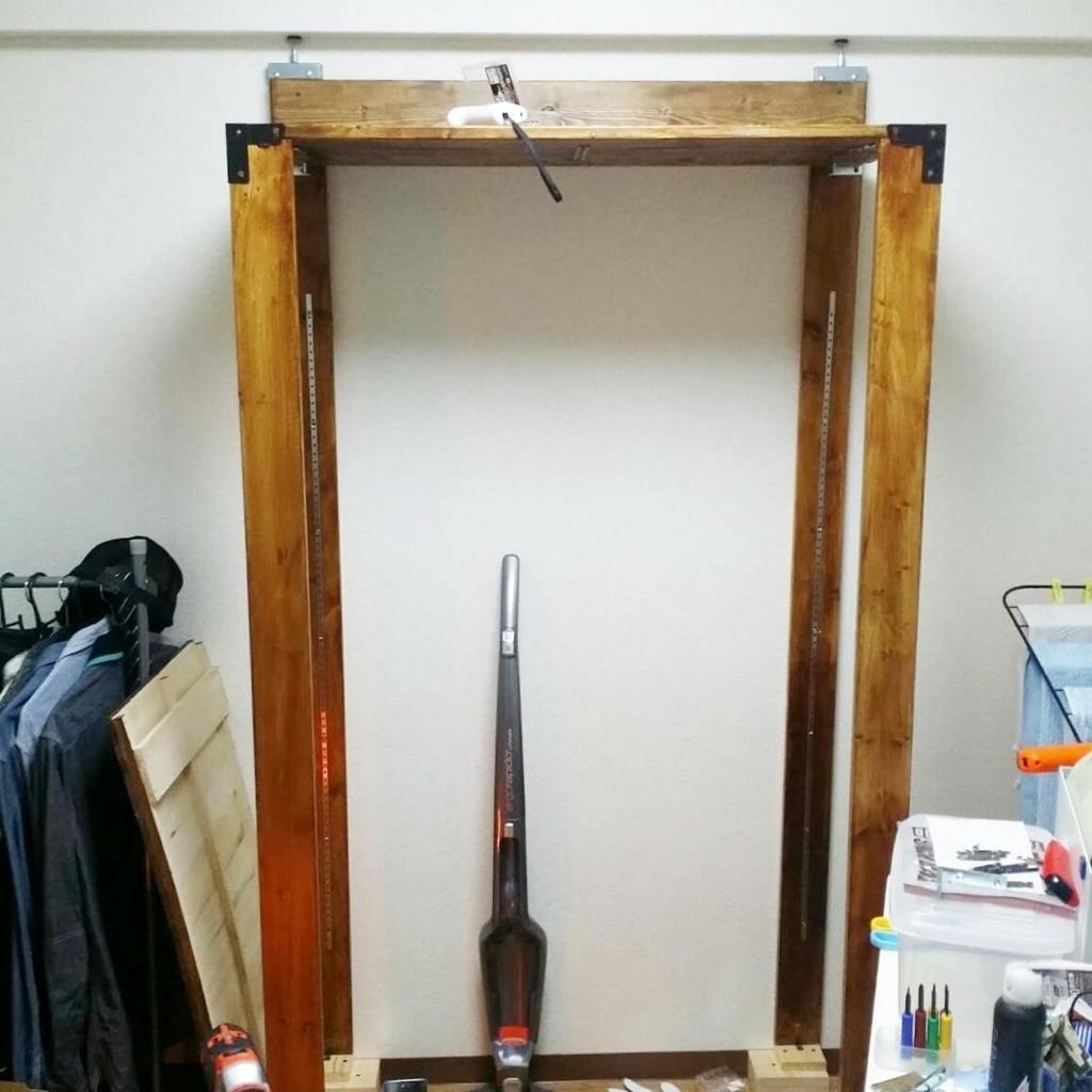 ウッドラックの木枠の作り方