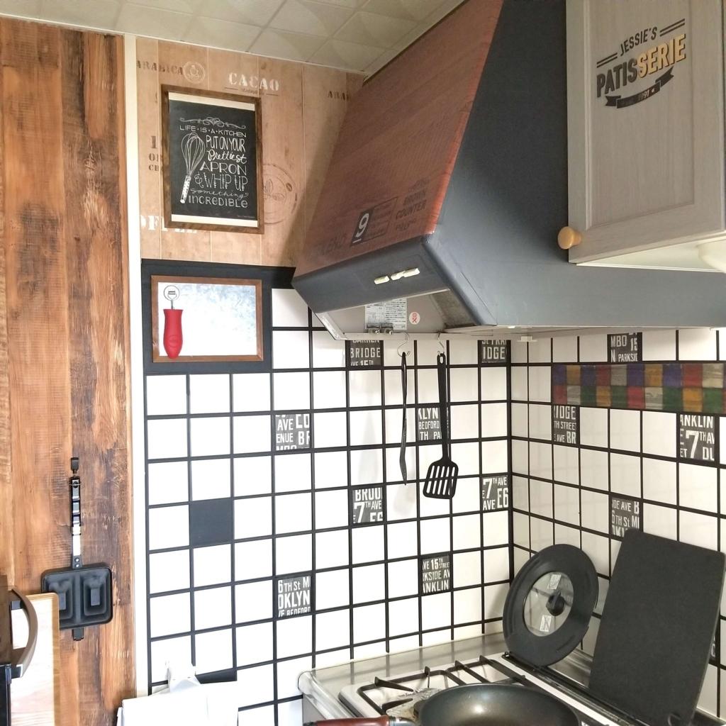 ブルックリンスタイルにリメイクしたキッチン