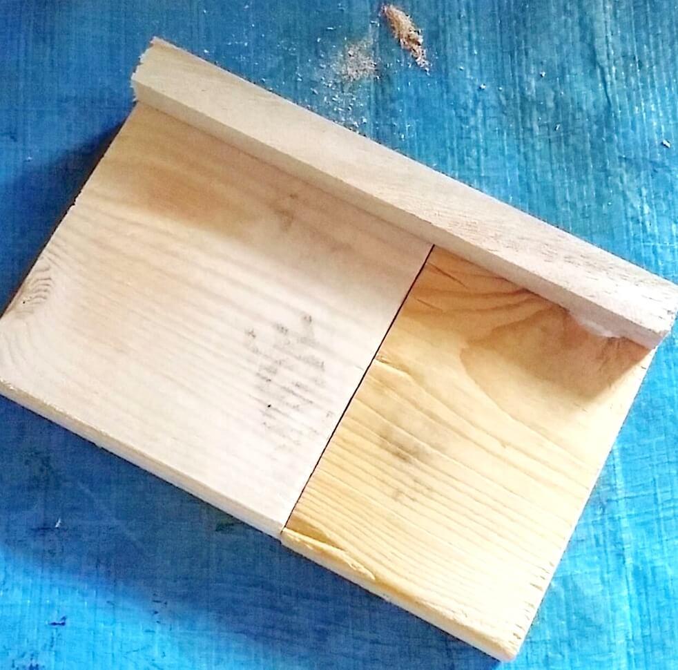 貼り合わせた木材