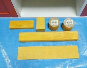 ままごとキッチンの手作り蛇口の材料