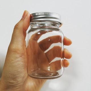 サボテンの水耕栽培で使う100均の瓶