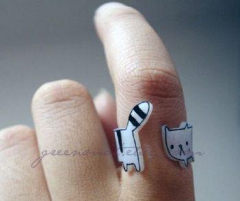 プラバンの指輪