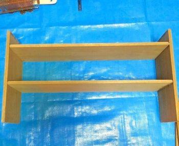 100均の木材と木工用ボンドで作る収納棚のDIY方法