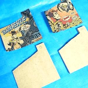 ハンドメイドコースターのデコパージュ用紙